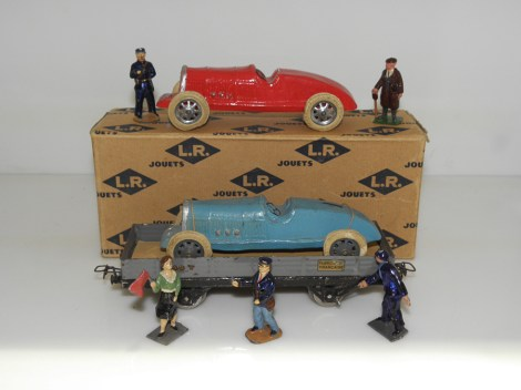 LR-Bugatti avec et sans wagon