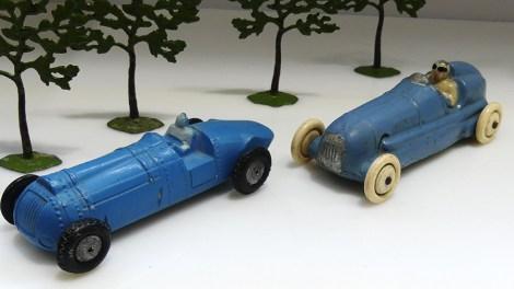 la lutte entre la Bugatti et la Delahaye le dernier jour de la compétition