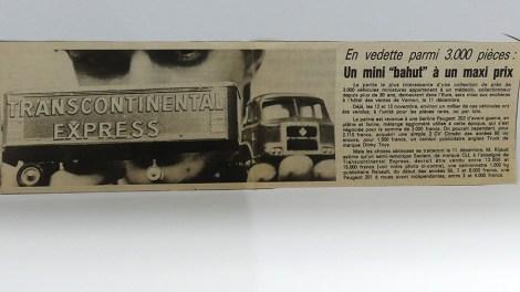 extrait d'un journal de 1983
