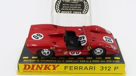 Ma Ferrari 312P de chez Dinky Toys !