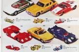 Catalogue anglais avec Ferrari 312P et roues rapide