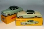 Dinky-toys Buick Roadmaster essai de couleur avec Studebaker de série
