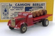 Gulliver Berliet GDR7D plateau brasseur