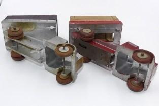 Gulliver Berliet GDR 7D avec et sans mécanisme