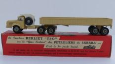 Solido Berliet TBO semi remorque ridelles