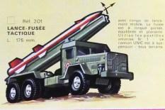 Solido Unic Sahara lance missile