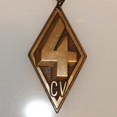Porte clefs 4cv Renault