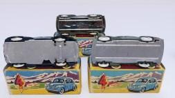 variantes de chassis sur les Renault 4cv calandre 6 barres avec jantes en acier
