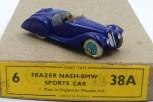 Dinky Toys Frazer Nash BMW prototype en bois serie38