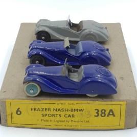 Dinky Toys Frazer Nash BMW première série et prototype