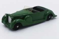 Dinky Toys Lagonda de 1947 avec jantes peintes de couleur noir