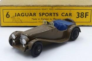 Dinky Toys série 38 Jaguar SS100 première série