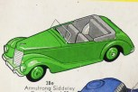 catalogue Dinky toys serie38 Armstrong Siddeley export
