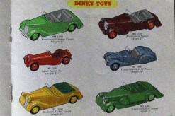 Catalogue Dinky-toys Hudson Dobson 1954