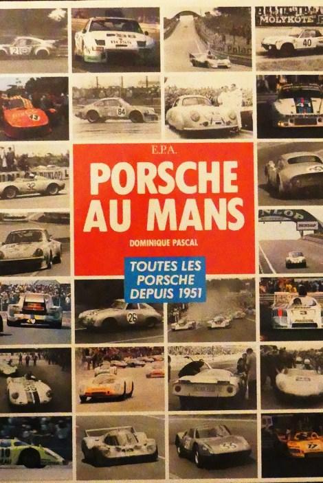 """Livre de Dominique Pascal """"Porsche au Mans"""""""