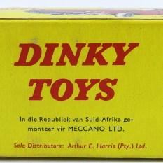 boîte Dinky-Toys Ford Thunderbrid Afrique du Sud