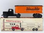 "Tootsietoys Mack""L"" semi remorque remorque tôle""Huber"""