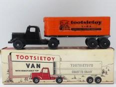 "Tootsietoys Mack""L"" semi remorque remorque tôlé ""Tootsietoys"""