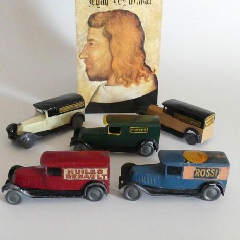 ensemble de CD-Renault 40cv fourgon
