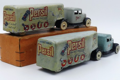 DC Panhard semi remorque tôle Persil