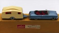 Solido coffret Junior avec Mercury et caravane