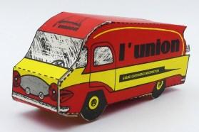 """découpage camion Renault 2,5 T Le Bastard """"L'union"""""""