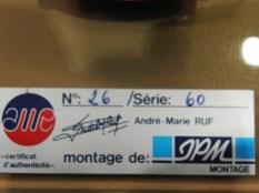 AMR Ferrari 330P4 Jean Paul Magnette