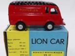 Lion Car Renault fourgon Posterijen avec jantes de couleur argent