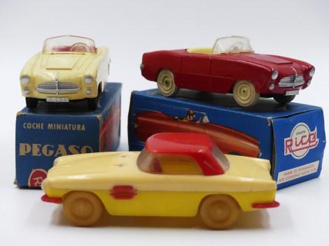 Rico Pegaso Z102 cabriolet et Z103