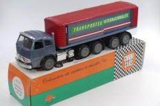 """Nacoral Pegaso tracteur semi remorque fourgon""""Transportes internacionales"""""""