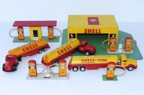 """Tekno LES garages et les pompes Shell"""" (avec véhicules Tekno)"""