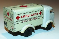 Sésame France Simca Cargo fourgon ambulance