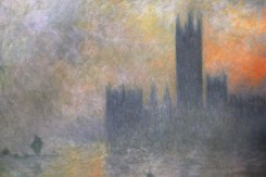 Claude Monet sa vision de Londres !