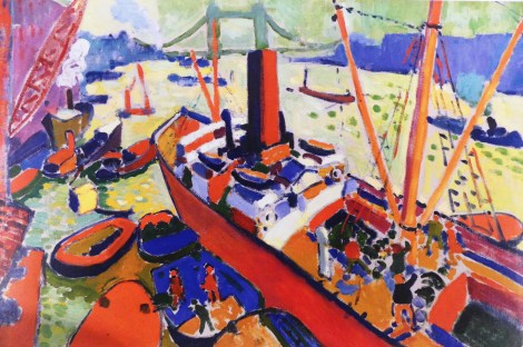 """André Derain """"le bassin de Londres"""" 1906"""