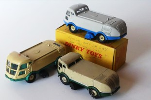 Dinky Toys LMV prototypes et modèle de série