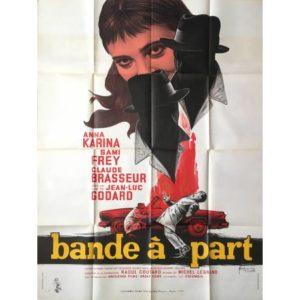 affiche du film Bande à part