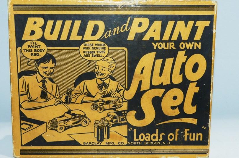 Barclay coffret de montage ! modèles à construire et surtout à peindre !