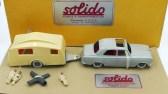 Solido Peugeot 403 berline Junior avec sa caravane