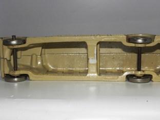 Arcade Fageol car (avec gravure Fageol) carroserie en deux parties