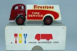 "Winross (USA) White 3000 fourgon ""Firestone"""
