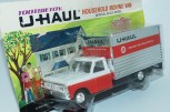"Tootsietoys (Made in Hong Kong) plastique fourgon""U haul"""