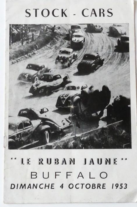 programme du Ruban Jaune 4 Octobre 1953 15 heures