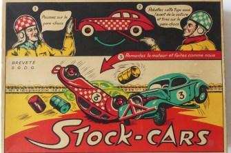 GG coffret avec les 3 autos de stock car et accésoires