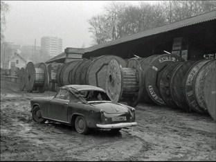 """extrait du film """"Bande à part"""" avec la fameuse Simca"""