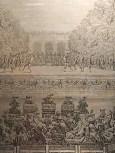 """Jean Lepautre """"Les Festes de l'Amour et de Bacchus"""" (18 Juillet 1668) Eau-forte et burin de 1678"""