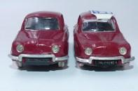 Norev Renault Dauphine avec plaque d'immatriculation amovible et fixe