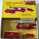 "Dinky Toys coffret ""fire service set"""