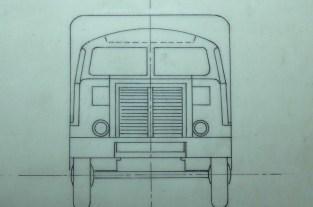Dinky Toys Berliet T6 ( plan d'origine)