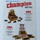 Safir Champion publicité pour la série des militaires