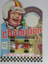 Safir Champion Lotus 49E avec aileron (rare boîtage)